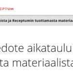Receptum pitää ajan tasalla EU:n tietosuoja-asetuksen vaatimuksista