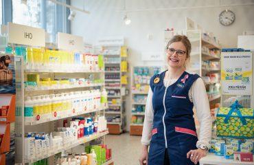 Erikoisproviisori Elina Lankinen on ollut mukana uudistamassa Receptumin reseptinkäsittelyn käyttöliittymää.